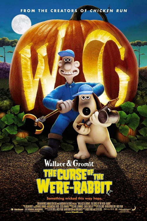 Wallace & Gromit: The Curse of the Were-Rabbit - Movie Poster