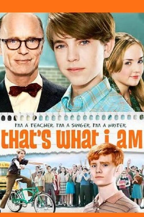 That's What I Am - Movie Poster