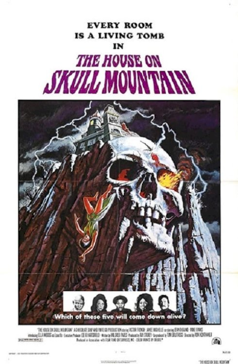 The House on Skull Mountain - Movie Poster
