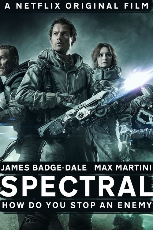 Spectral - Movie Poster