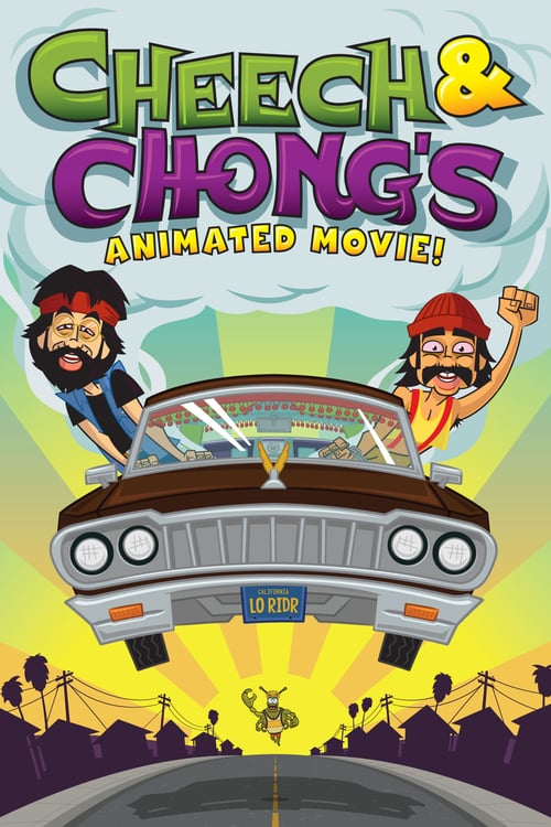 Cheech & Chong's Animated Movie - Movie Poster