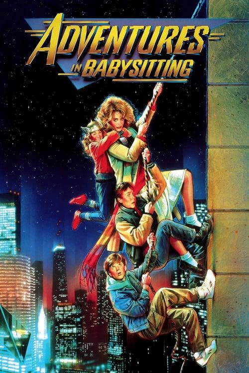 Adventures in Babysitting - Movie Poster