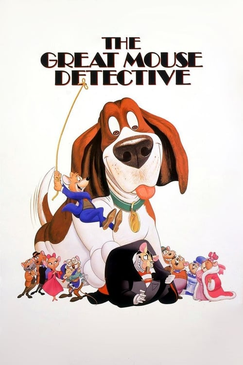 The Great Mouse Detective - Movie Poster