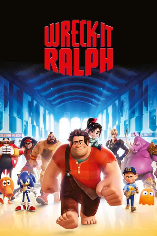 Wreck-It Ralph - Movie Poster