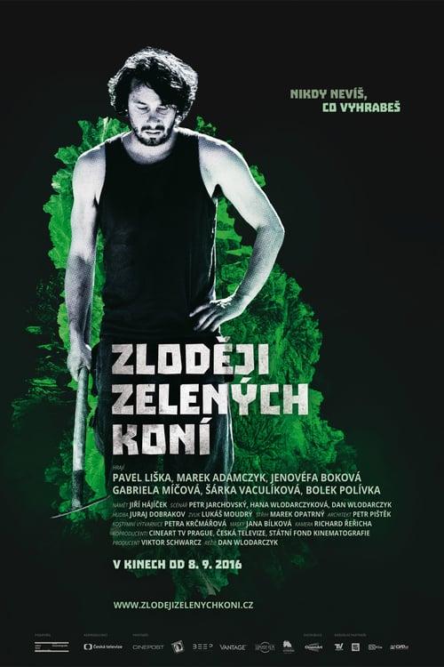 Zloději zelených koní - Movie Poster
