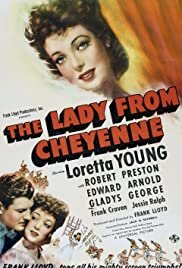 The Lady from Cheyenne - Movie Poster