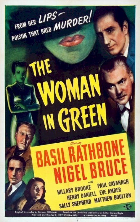 The Woman in Green - Movie Poster