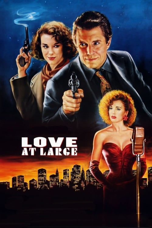 Love at Large - Movie Poster