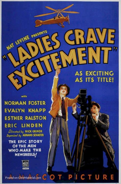 Ladies Crave Excitement - Movie Poster