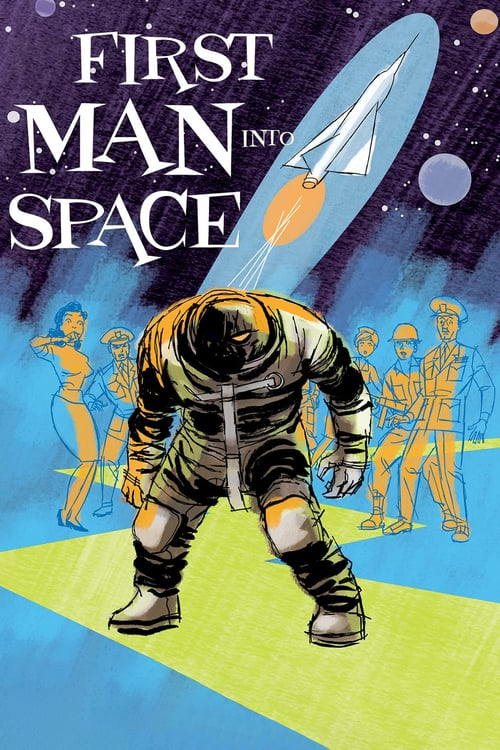 First Man into Space - Movie Poster