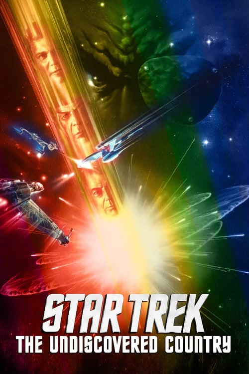 Star Trek VI: The Undiscovered Country - Movie Poster
