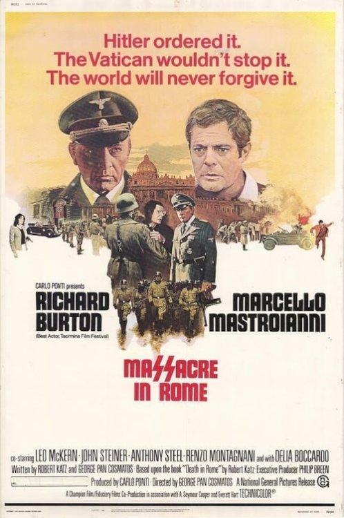Massacre in Rome - Movie Poster
