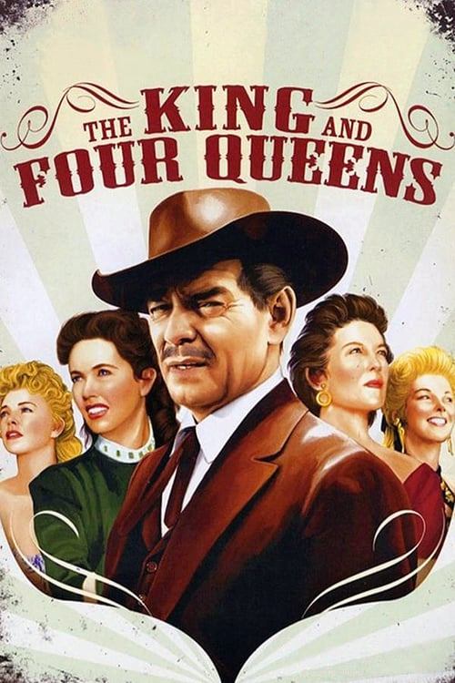 The King and Four Queens - Movie Poster