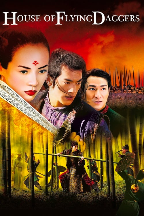 House of Flying Daggers - Movie Poster