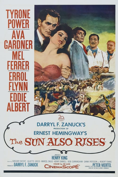 The Sun Also Rises - Movie Poster