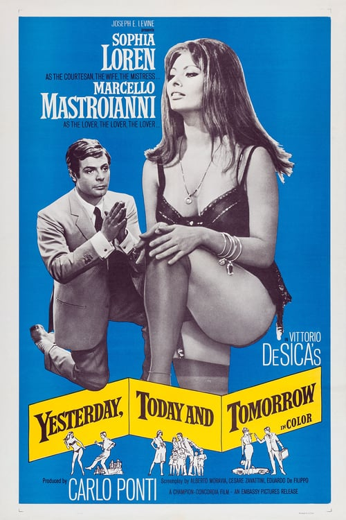 Yesterday, Today and Tomorrow - Movie Poster