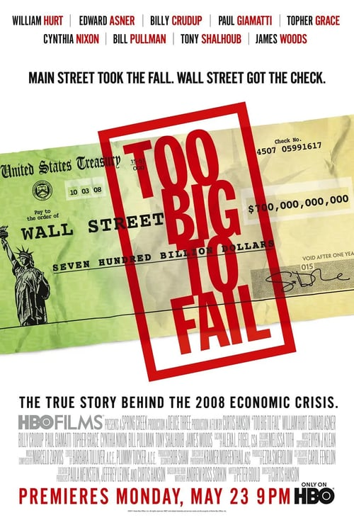 Too Big to Fail - Movie Poster