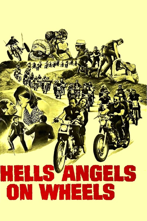 Hells Angels on Wheels - Movie Poster
