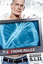 WWE Extreme Rules 2011 - Movie Poster