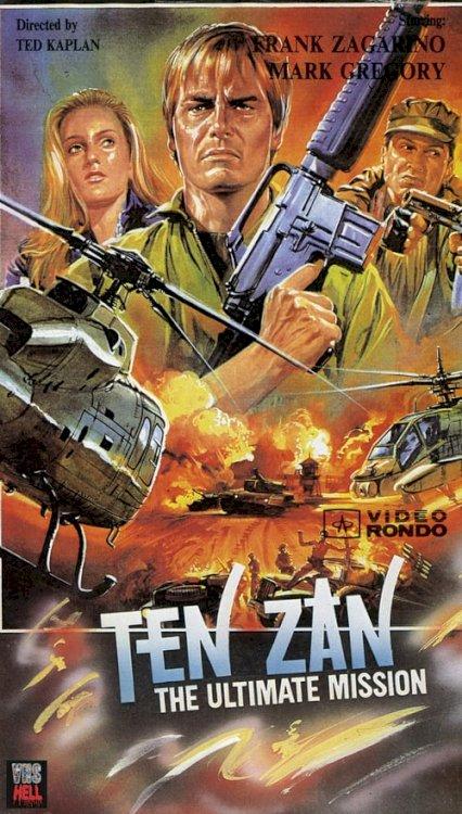 Ten Zan - Ultimate Mission - Movie Poster