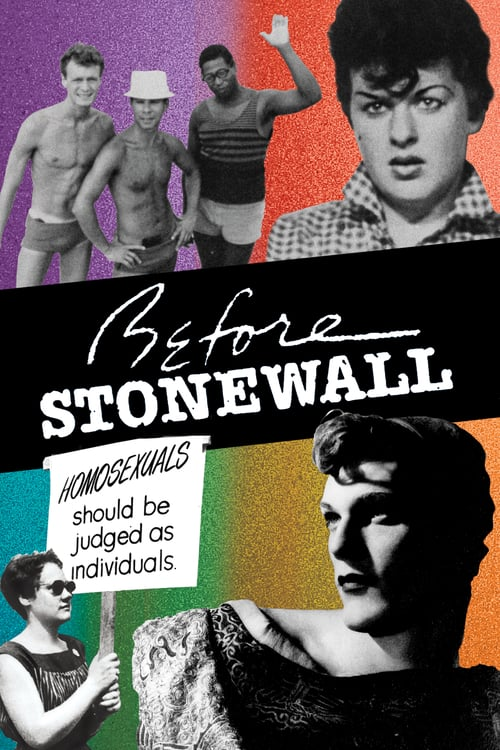 Before Stonewall - Movie Poster