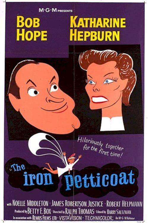 The Iron Petticoat - Movie Poster