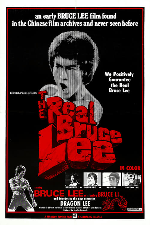 The Real Bruce Lee - Movie Poster