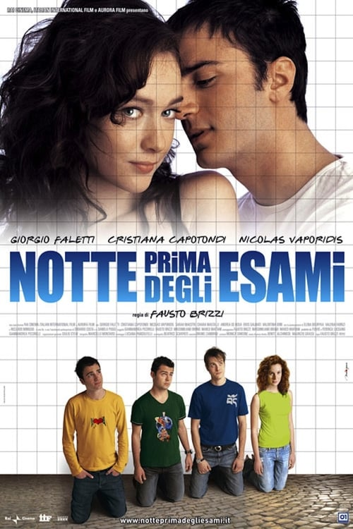 The Night Before the Exams - Movie Poster