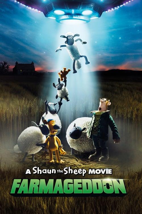 A Shaun the Sheep Movie: Farmageddon - Movie Poster