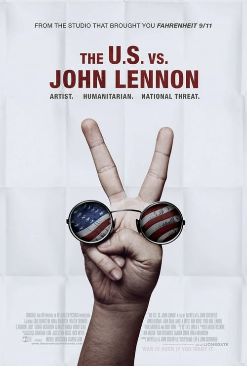 The U.S. vs. John Lennon - Movie Poster