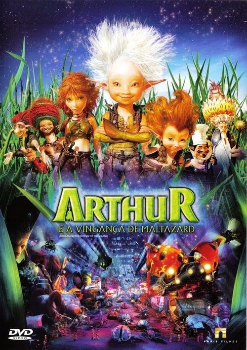 Arthur and the Revenge of Maltazard - Movie Poster