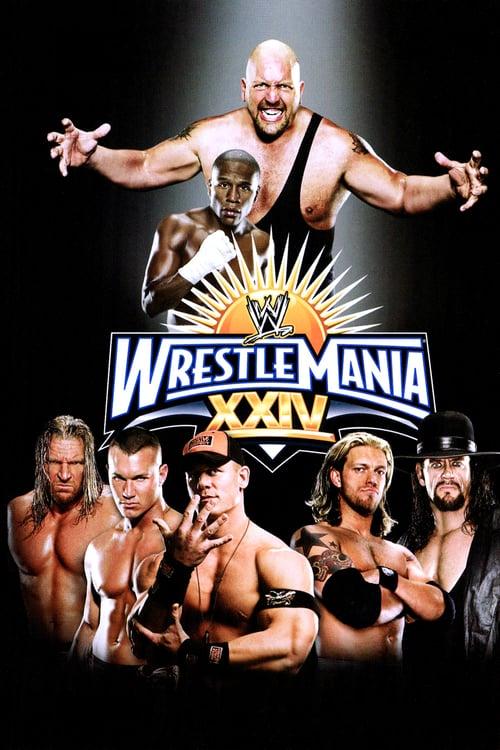 WWE WrestleMania XXIV - Movie Poster
