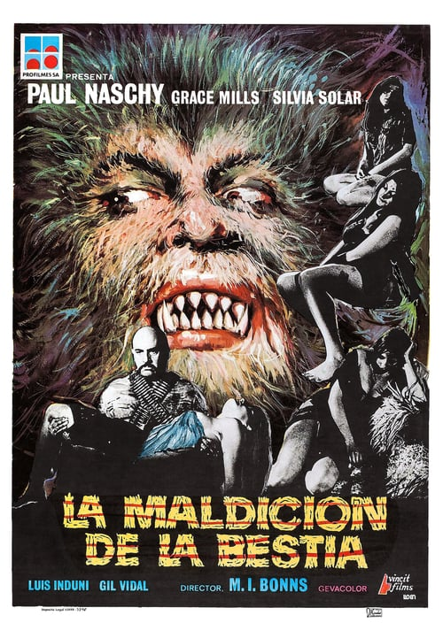 Night of the Howling Beast - Movie Poster