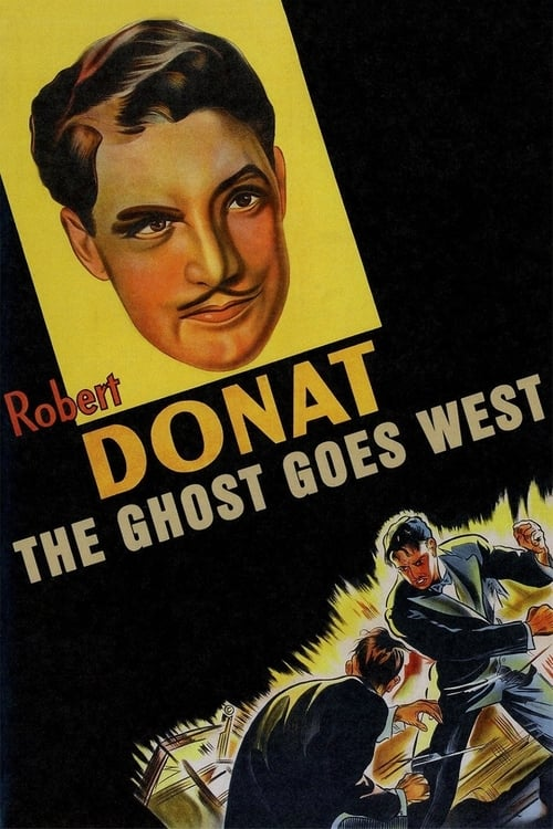 The Ghost Goes West - Movie Poster