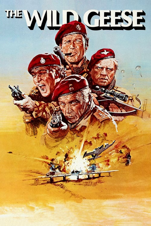The Wild Geese - Movie Poster