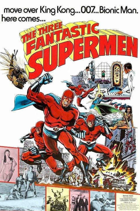 The Three Fantastic Supermen - Movie Poster