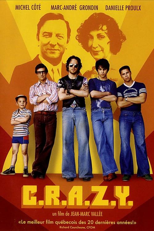 C.R.A.Z.Y. - Movie Poster