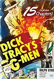 Dick Tracy's G-Men - Movie Poster