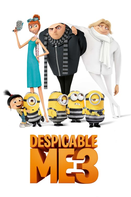 Despicable Me 3 - Movie Poster