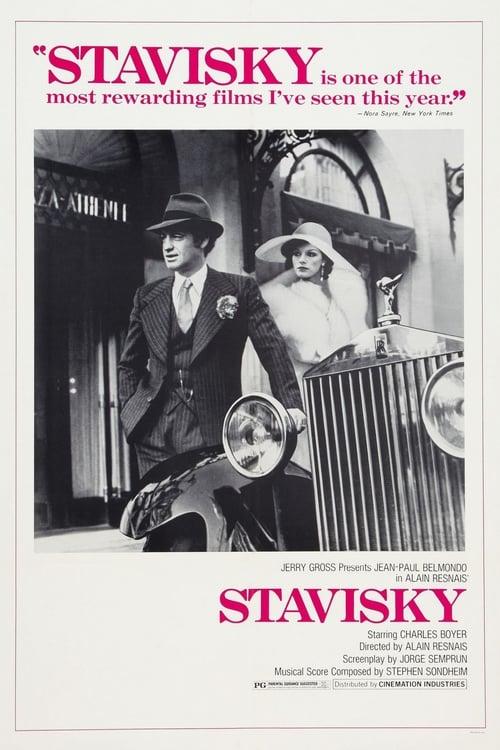Stavisky... - Movie Poster