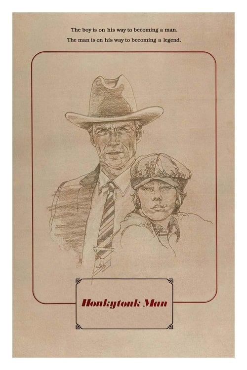 Honkytonk Man - Movie Poster