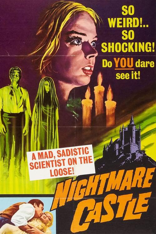 Nightmare Castle - Movie Poster
