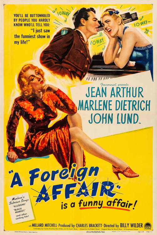 A Foreign Affair - Movie Poster
