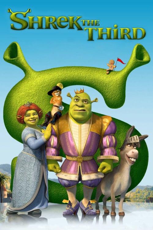 Shrek the Third - Movie Poster