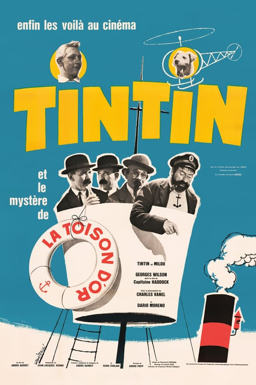 Tintin and the Mystery of the Golden Fleece - Movie Poster