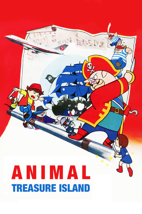 Animal Treasure Island - Movie Poster