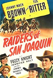 Raiders of San Joaquin - Movie Poster