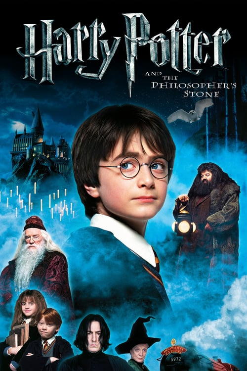 Harry Potter and the Philosopher's Stone - Movie Poster