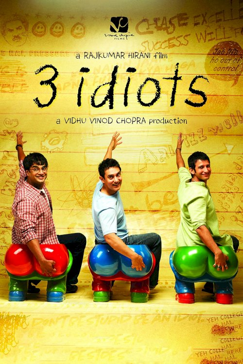 3 Idiots - Movie Poster
