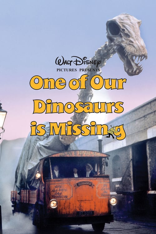 One of Our Dinosaurs Is Missing - Movie Poster